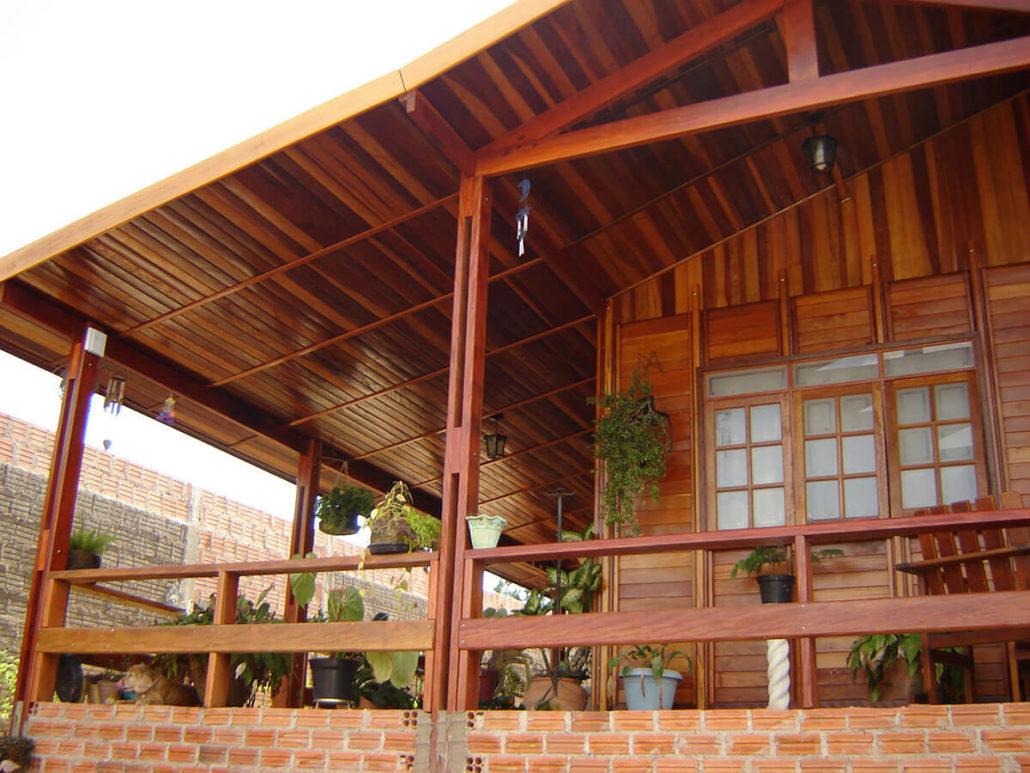 Casa De Madeira Com 3 Dormit Rios Igua U Boncasa Express
